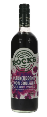 Rocks Blackcurrant Squash - 740ml