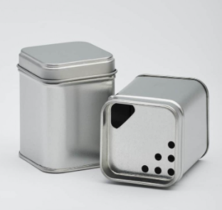 Spice Tin with Inner Lid
