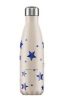 Chilly's Bottle 500ml - Blue Stars
