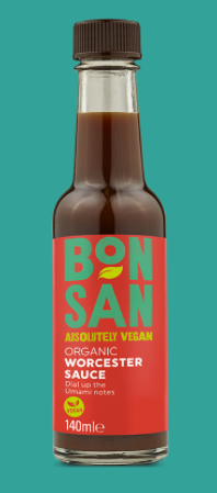 Bonsan Worcester Sauce 140ml
