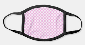 Pink Checkers Mask!
