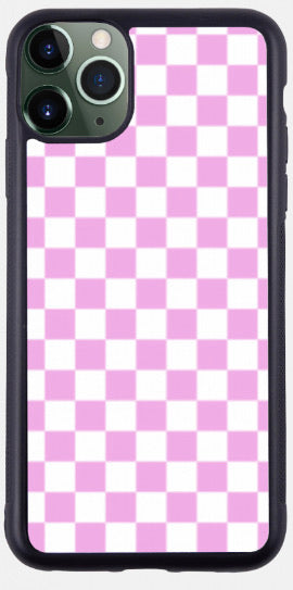 Pink & White Checkers!