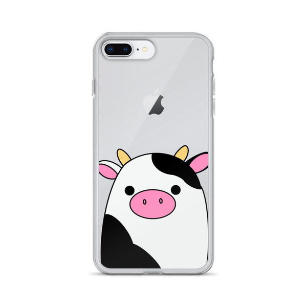 Connor Cow Clear Case