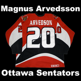 Arvedsson, Magnus #20 - Game Played Relic