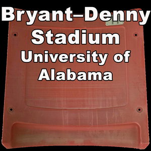 Bryant–Denny Stadium (University of Alabama) [PLASTIC SEAT]