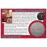 Langway, Rod #5 - Game Played Relic