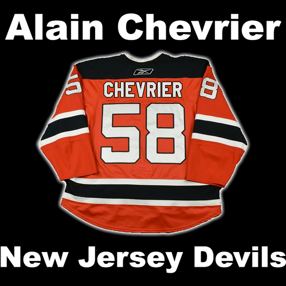 Chevrier, Alain #58 - Game Played Relic