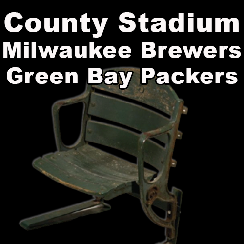 Milwaukee County Stadium (Milwaukee Brewers and Green Bay Packers)