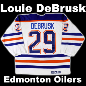 DeBrusk, Louie #29 - Game Played Relic