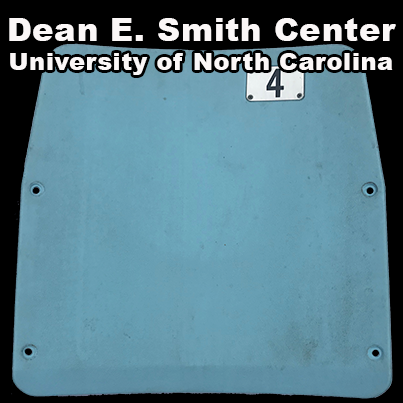 Dean E Smith Center ( University of North Carolina) [Plastic Seats]