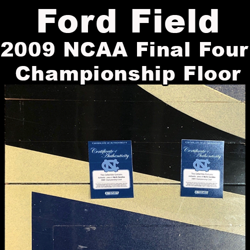 Ford Field (2009 NCAA Final Four Championship Floor)