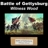 Battle of Gettysburg Witness Wood