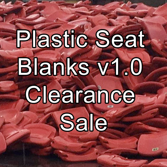 Plastic Seat Blanks v1.0 [CLEARANCE]
