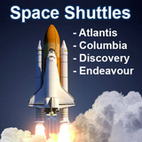 NASA Space Shuttle Embedded Pen Blanks
