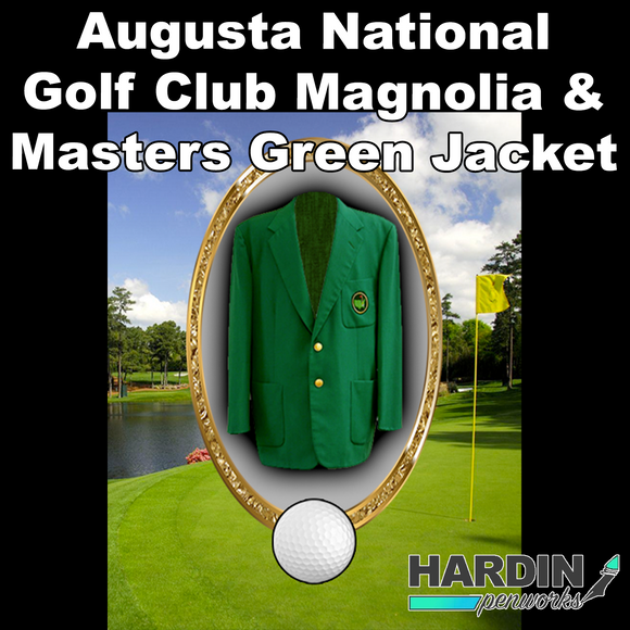 Augusta National Golf Club and Masters Green Jacket Relic