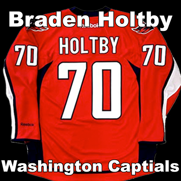 Holtby, Braden #70 - Game Played Relic