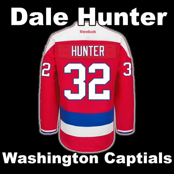 Hunter, Dale #32 - Game Played Relic