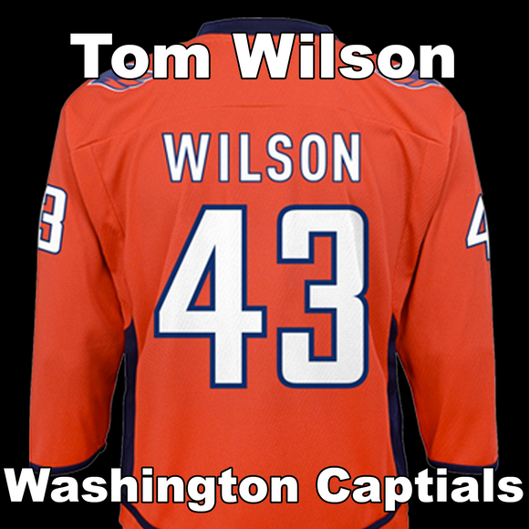 Wilson, Tom #43 - Game Played Relic