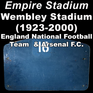 Wembley Stadium [1923] (England national football team & Arsenal F.C.)