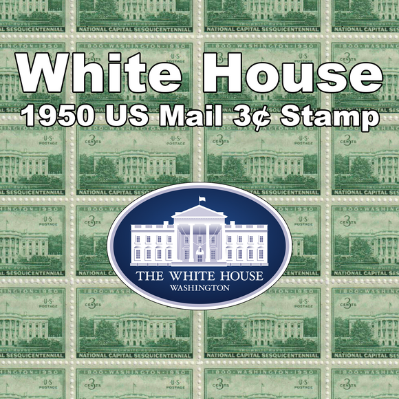 White House – Pre-Tubed Stamp Blanks