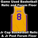 Bryant, Kobe Game Played Relics (Los Angeles Lakers)