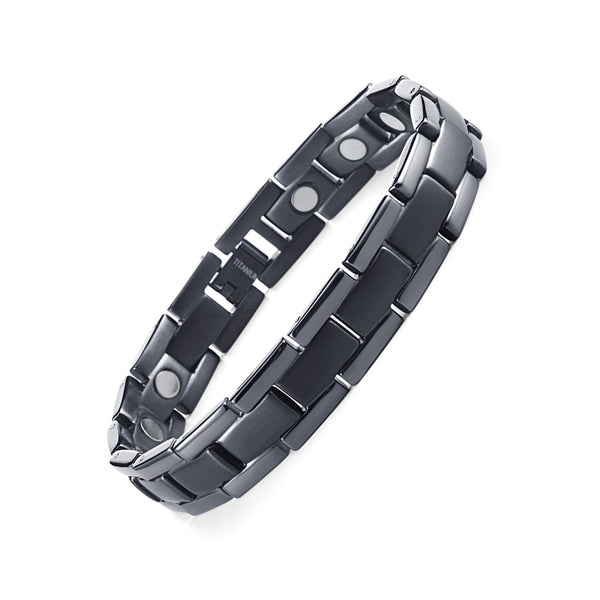 Pain Relief Bracelet | Titanium Magnetic Therapy Bracelet | Welmag Magnetic Bracelet