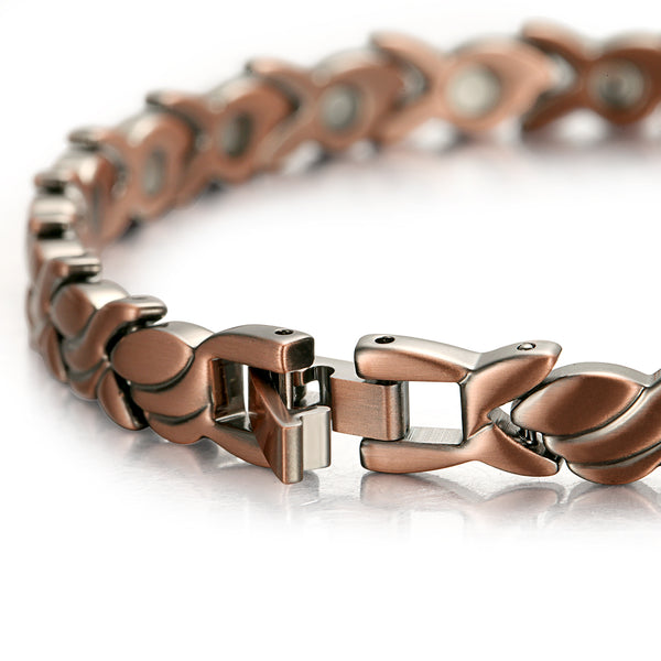 Women Ultra Strength Copper Magnetic Bracelet , OCB-1551
