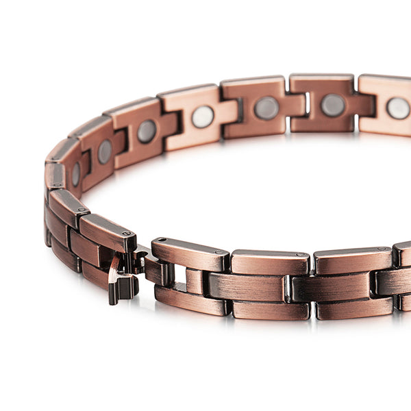 Women Copper Magnetic Bracelets for Pain , OCB-145
