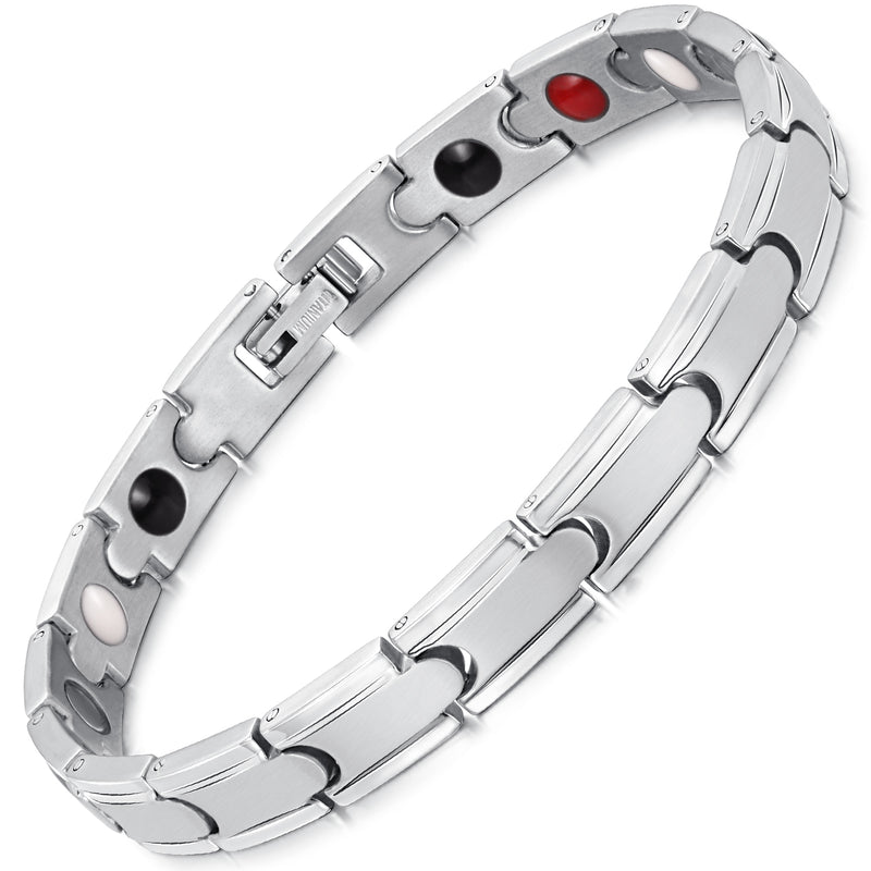 Powerful Stronger Titanium Magnetic Therapy Bracelet for Arthritis