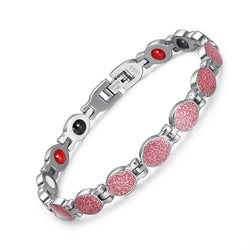 Valentine's Day Gifts - Stainless Steel Magnetic Bracelets , JEW01621-PK