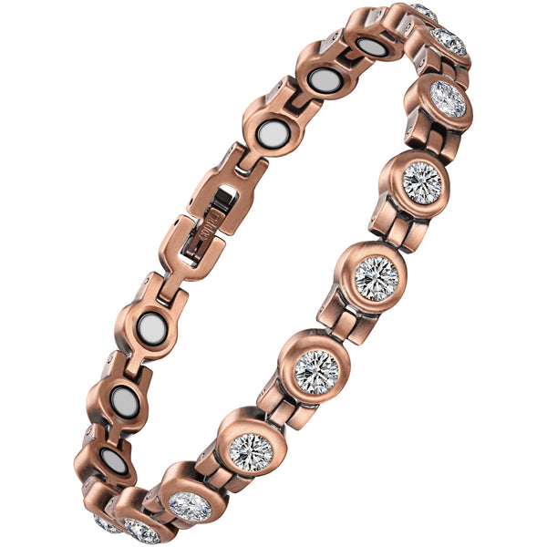 Effective Pure Copper Magnetic Therapy Bracelet , OCB-1921