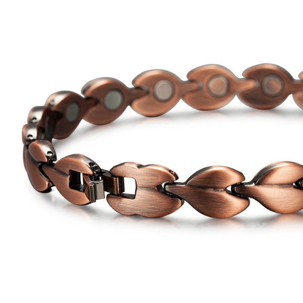 Women Ultra Strength Copper Magnetic Bracelet , OCB-081