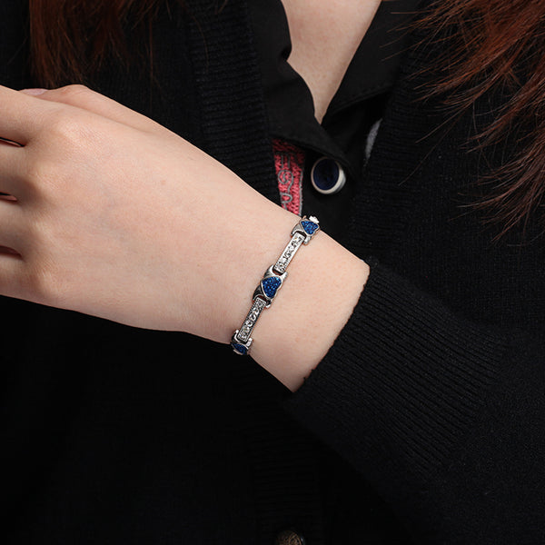 Valentine's Day Gifts - Stainless Steel Magnetic Bracelets , JEW01618-BL