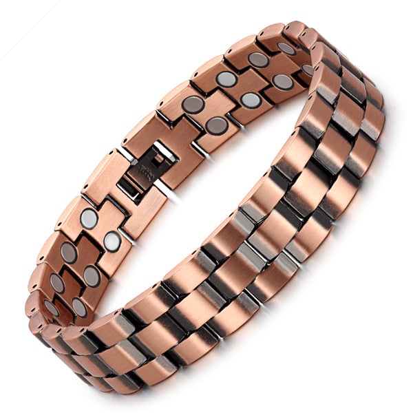Copper Ultra Strength Powerful Magnetic Bracelet , OCB-219