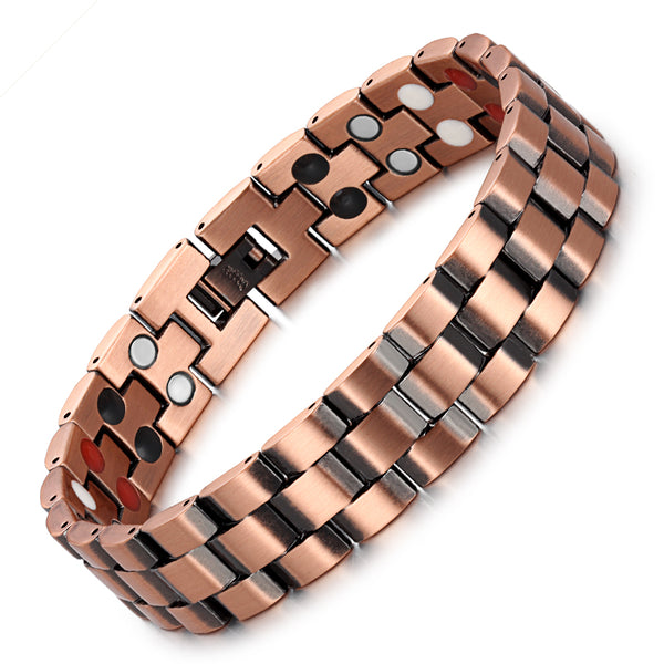 Powerful Most Effective Copper Magnetic Bracelet , OCB-219FIR