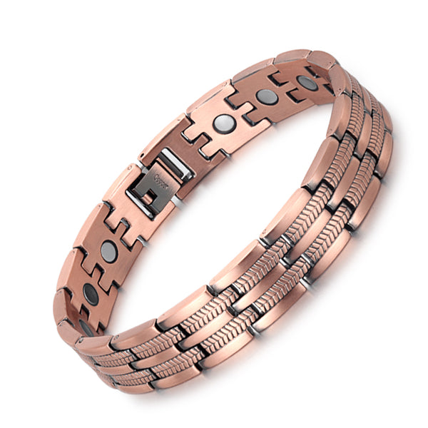 High Gauss Most Effective Powerful Men Magnetic Copper Bracelet Benefits