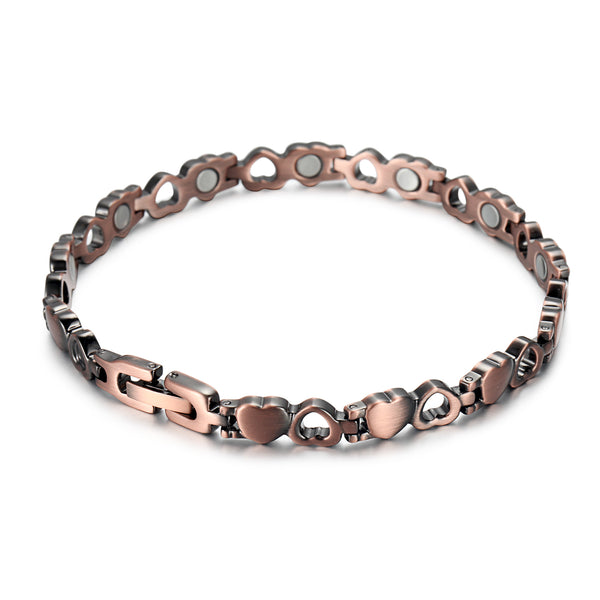 Women Pure Copper Magnetic Bracelet , OCB-082