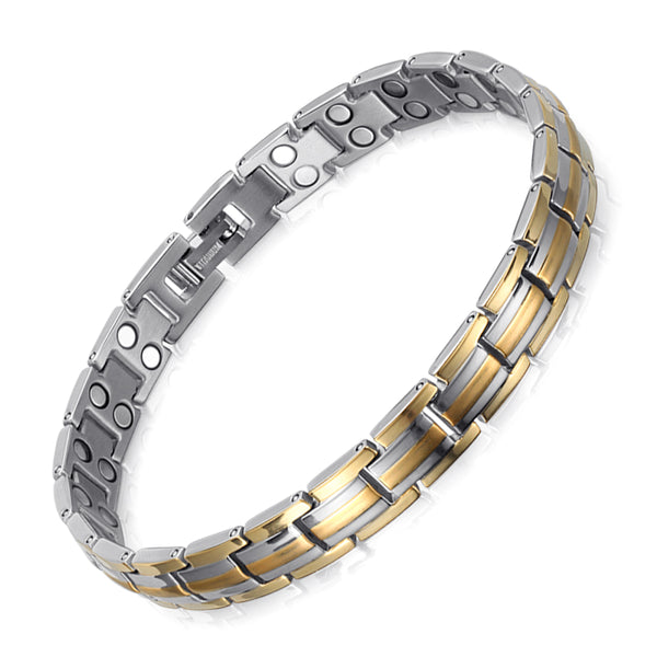 High Gauss Most Effective Powerful Women Titanium Magnetic Therapy Bracelet