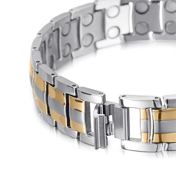 Magnetic Therapy Bracelets | Men Magnetic Bracelet | Welmag Magnetic Bracelet