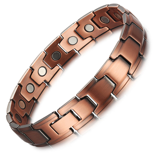 Copper Powerful Magnetic Therapy Bracelet , OCB-1540
