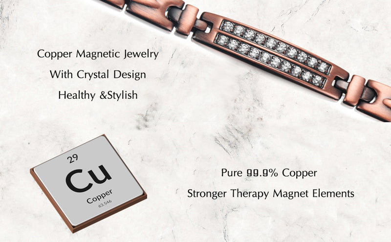 Ultra Strength Powerful Copper Magnetic Necklace , OCN-1765