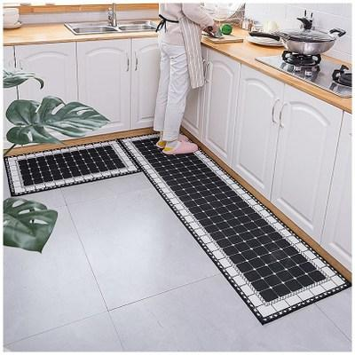 Printed non-slip rug for bathroom and kitchen(Buy 2 free shipping)