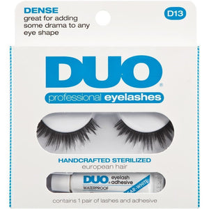 DUO Dense Eyelashes D13 - WITHOUT GLUE - Professional Salon Brands