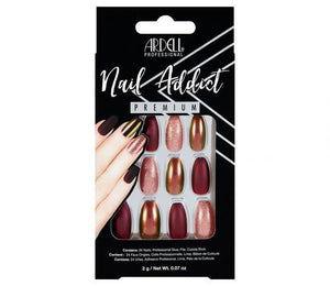 Ardell Nail Addict - Red Cateye - Professional Salon Brands