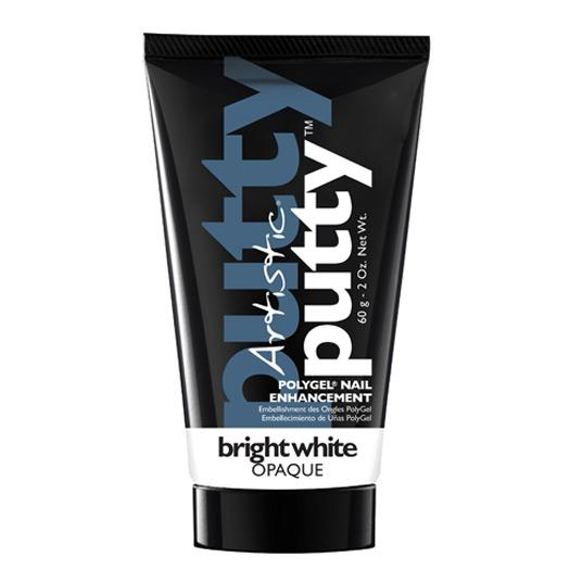 Artistic Putty Polygel - Bright White 60g - Professional Salon Brands