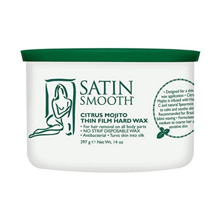 Satin Smooth Citrus Mojito Thin Film Hard Wax 397g - Professional Salon Brands