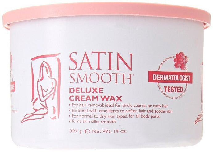 Satin Smooth Deluxe Cream Strip Wax 397g - Professional Salon Brands