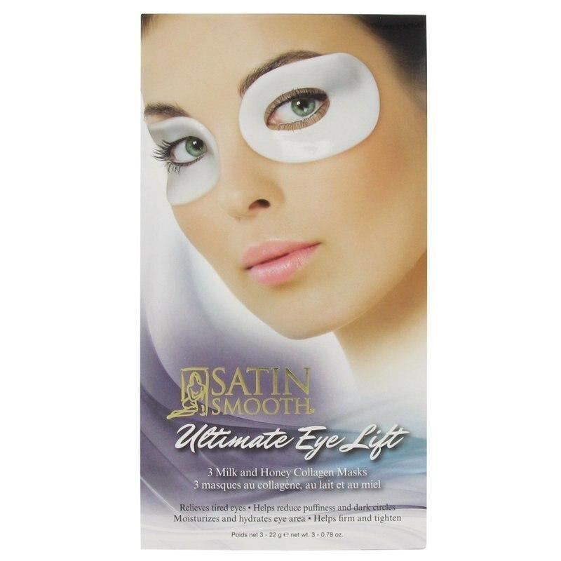 Satin Smooth Ultimate Eye Lift Collagen Mask 3 pack - Professional Salon Brands