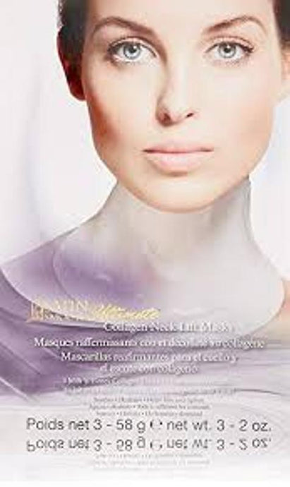 Satin Smooth Ultimate Neck Lift Collagen Mask 3 pack - Professional Salon Brands