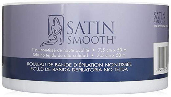 Satin Smooth Non-Woven Roll 50m - Professional Salon Brands